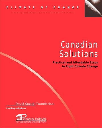 Canadian Solutions.2k.1 - David Suzuki Foundation