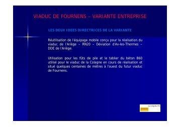 VIADUC DE FOURNENS – VARIANTE ENTREPRISE