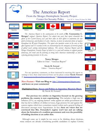 The Americas Report