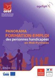 Panorama Formation-Emploi des personnes handicapées en Midi ...