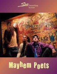 Mayhem Poets Keynotes 2012:Layout 1.qxd - State Theatre