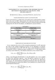 Technical Appendix - College of Agricultural, Human, and Natural ...
