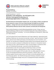Infotreff: Brustkrebs in den Schlagzeilen - Rotkreuzklinik Wertheim