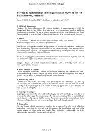 2. Bestemmelser til bebyggelsesplan, kart, ortofoto og foto.