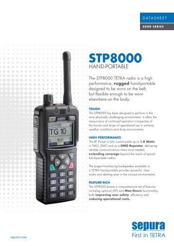 The SEPURA STP8000 - IT Radio Service