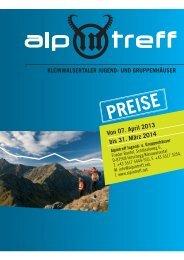 Preise 2013/14 - Alpintreff.net