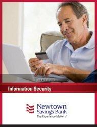 Information Security - Newtown Savings Bank