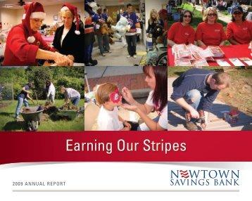 09 Newtown Savings Annual Report - Newtown Savings Bank