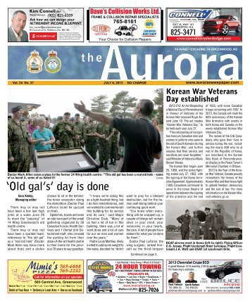 Jul 8 2013 - The Aurora Newspaper