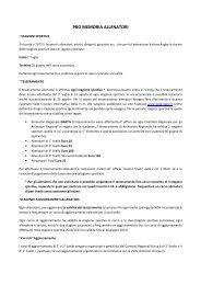 PRO MEMORIA ALLENATORI - Comitato Regionale Lombardo Rugby