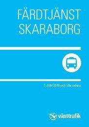 Information Färdtjänst Skaraborg - Vara kommun