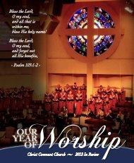 Annual Report 2012 - Christ Covenant Church