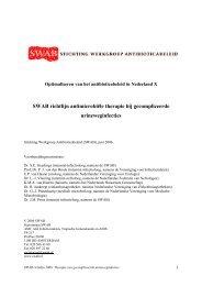 Gecompliceerde urineweginfecties - SWAB