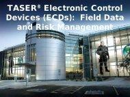 ECDs - Center for Investigative Reporting