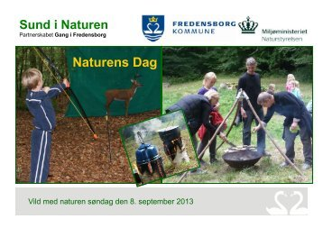Se programmet for Naturens dag