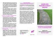 handlung persönlichkeit gruppe - Institut für anwendungsorientierte ...
