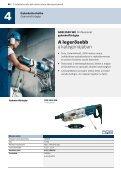 Gyémántfúrógépek, betoncsiszoló,falhoronymarók - Bosch - Page 3
