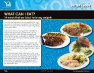 WHAT CAN I EAT? - Yoli