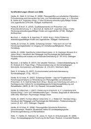 Veröffentlichungen (Stand Juni 2008): - Institut für ...