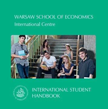 International Student Handbook - Szkoła Główna Handlowa w ...
