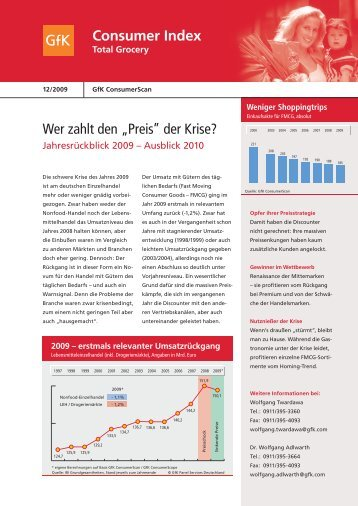 Consumer Index - GfK Panel Services Deutschland