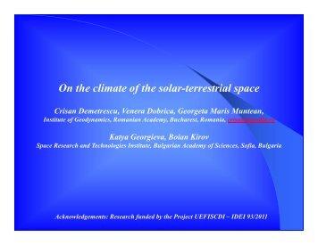Crisan Demetrescu - Institute of Geodynamics Sabba S Stefanescu