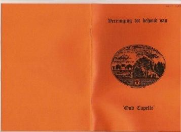Nieuwsbrief 1983 04 (april) - Historische Vereniging Capelle aan ...