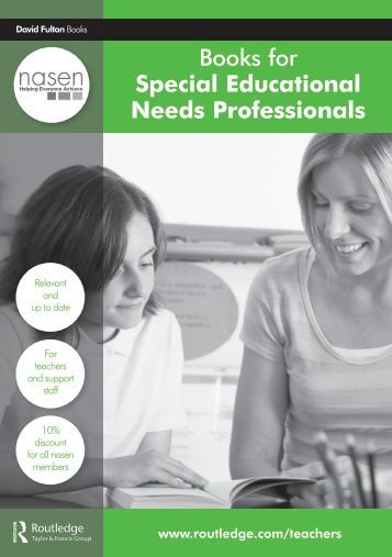 Books for Special Educational Needs Professionals - Nasen