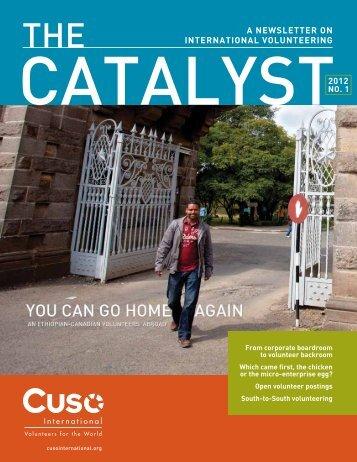 Catalyst - Spring '12 (pdf) - Cuso International