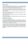 Discharge Advice following Micro-Vascular Decompression - Page 2