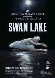 Swan Lake Resource - Royal New Zealand Ballet
