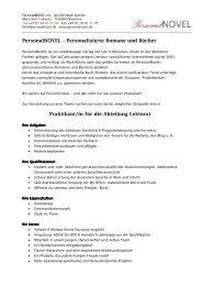 Praktikum Lektorat Personalnovel 25.06.2012