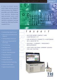 TR 5001 T - Equip-Test