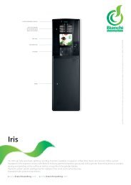 Iris, 180 cup fully automatic tabletop vending machine, available in ...