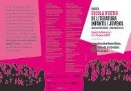 escola d'estiu de literatura infantil i juvenil - Biblioteca de Montserrat