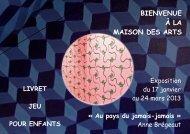 Livret_jeu - Maison des arts