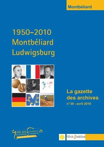 Gazette 39 - Montbéliard