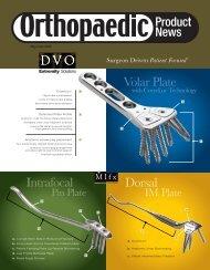 US Orthopaedic Product News. May/June 2006. - Orthoworld