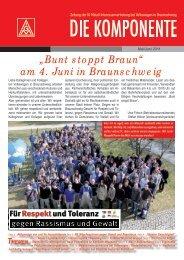 """Bunt stoppt Braun"" am 4. Juni in Braunschweig - IG Metall ..."