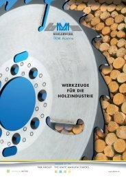 Sägen und Werkzeuge für die Holzindustrie - TKM Austria GmbH
