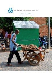 Première Agence de Microfinance Mali - Aga Khan Development ...