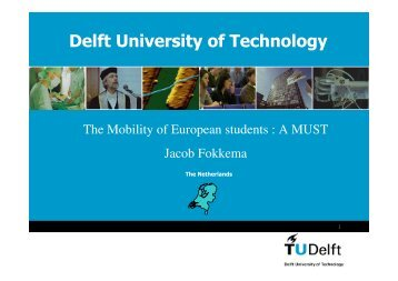 The mobility of European students - A MUST