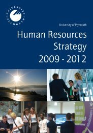 Human Resources Strategy - Plymouth University