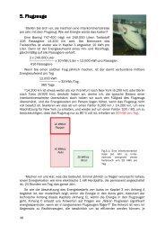 5. Flugzeuge 5. Flugzeuge - Nachhaltige Energiegewinnung