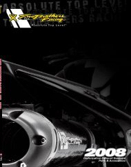 View our new e-catalog - Two Brothers Racing