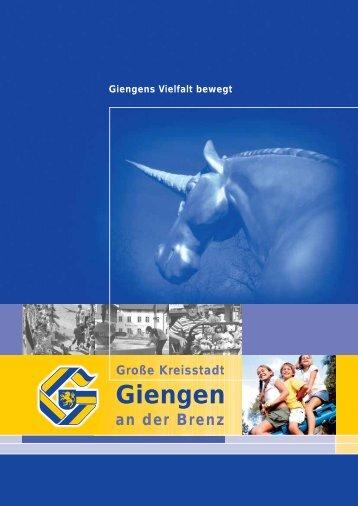 """Giengens Vielfalt bewegt """"Schaffen"""" - Stadt Giengen"""