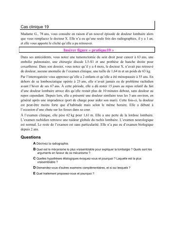 Cas clinique 19 - UMVF
