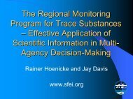 Case Studies of Successful Monitoring Programs A. Regional ...