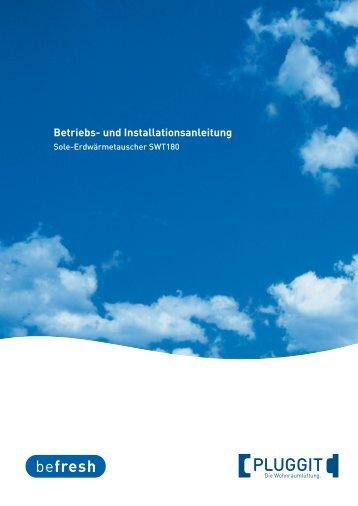 BIA- Betriebs und Installationsanleitung Sole ... - Pluggit
