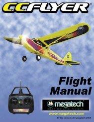 C C Flyer Instruction Manual - High Definition Radio Control